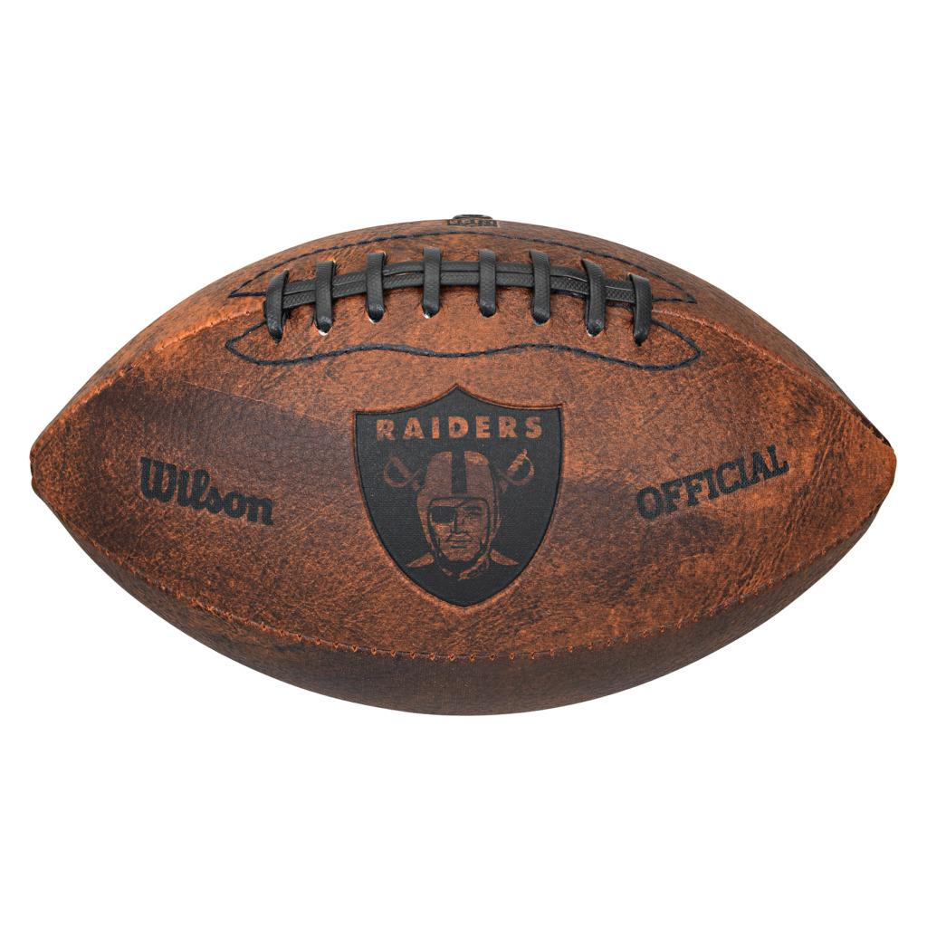 Oakland Raiders 9-inch Composite Leather Football