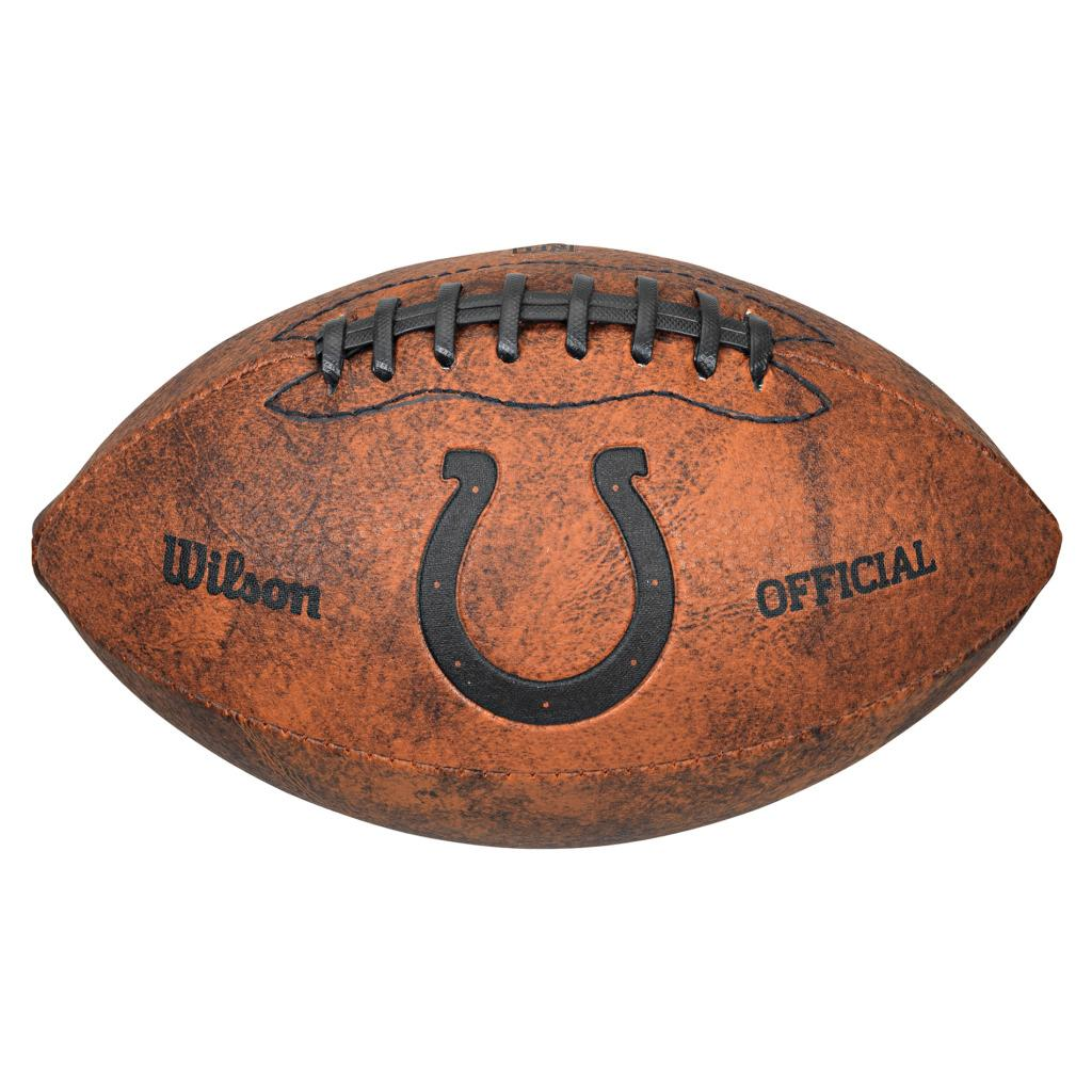 Wilson Indianapolis Colts 9-inch Composite Leather Football at Sears.com