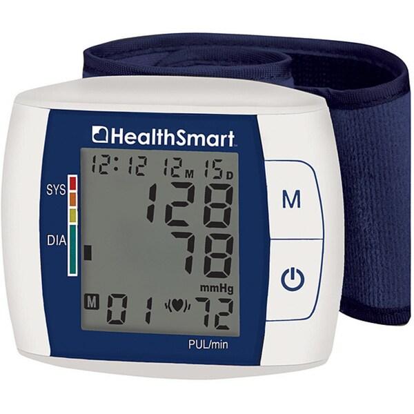 Healthsmart Premium Auto Wrist Talking Blood Pressure Monitor