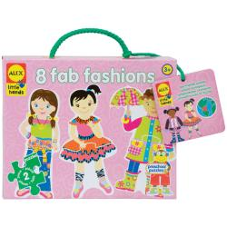 Alex Toys Fab Fashions Puzzle Kit