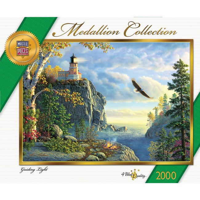 Medallion Collection Guiding Light 2000-piece Jigsaw Puzzle