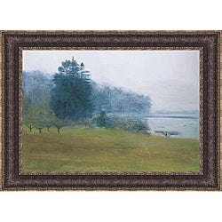 Kurt Solmssen 'Tress in Fog and Mist' Framed Print Art