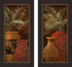Nan 'Island Dreams I & II' Framed Print Art