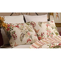Greenland Home Fashions Butterflies King-size Shams (Set of 2)