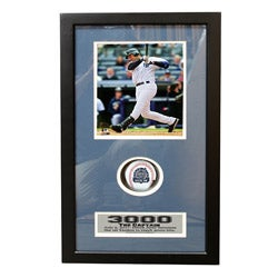 New York Yankees Derek Jeter 3000-Hit Commemorative Shadow Box Frame