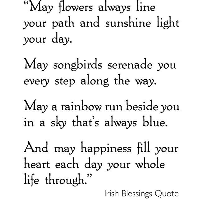 Irish Marriage Blessing Quotes. QuotesGram