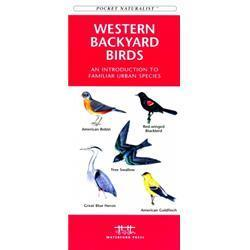 Western Backyard Birds Book
