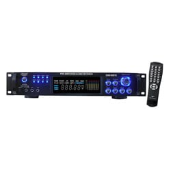 PylePro 2000 Watts Hybrid Pre-amplifier with AM/ FM Tuner (Refurbished)