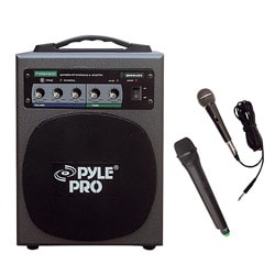 Pyle 100 Watt Wireless Battery Powered PA System (Refurbished)