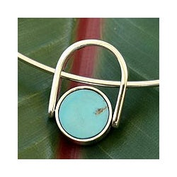 Sterling Silver 'Duality' Turquoise and Obsidian Jewelry Set (Mexico)