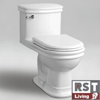 RST Living Icera Wilshire Elongated One-piece WhiteToilet
