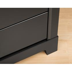 Nicola Black 5-drawer Chest