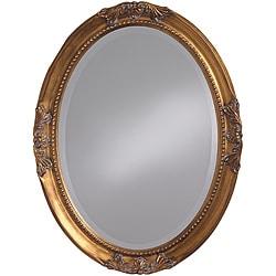 Lizzie Antique Gold Leaf Mirror