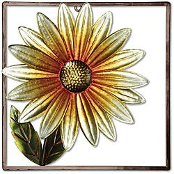 Deco Breeze Metal Daisies Wall Decor