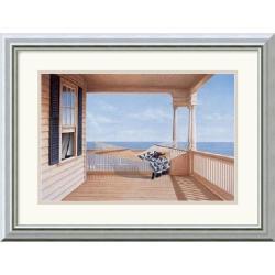 Daniel Pollera 'A Summer Place' Framed Art Print