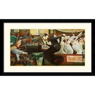 Frank Morrison 'Preach on Preacher' 43 x 26-inch Framed Art Print