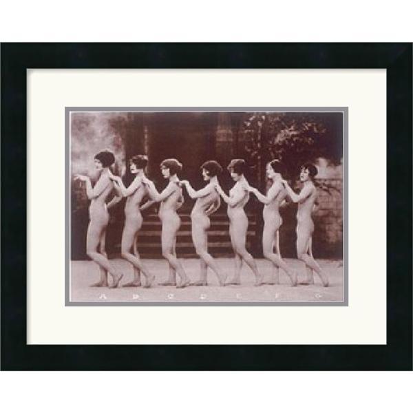 Albert Arthur Allen 'Chorus Line' Framed Art Print