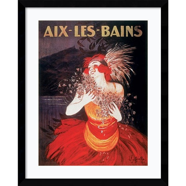 Leonetto Cappiello 'Aix-Les-Bains' Framed Art Print