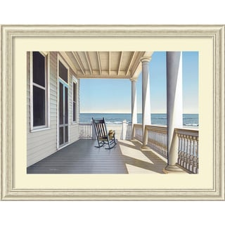 Daniel Pollera 'Carolina Porch' Framed Art Print
