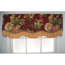 Bramasole Glory Floral and Striped Valance