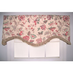 Floral Lane Multicolor Valance