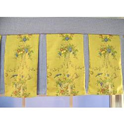 County Fair Pleated Valance