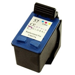 Sophia Global HP 57 Color Ink Cartridge (Refurbished)