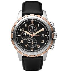 Fossil Men's Stainless Rose-Goldtone Chronograph Watch
