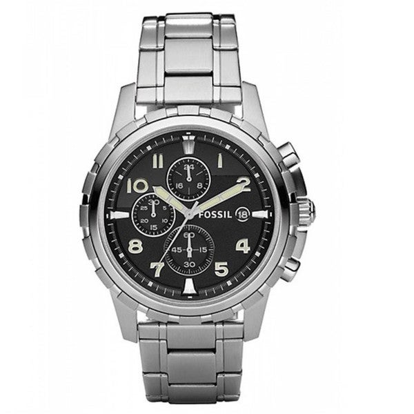 Fossil Men's FS4542 'Dean' Stainless Steel Chronograph Watch