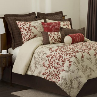 Lush Decor Hester 8-piece Full-size Comforter Set