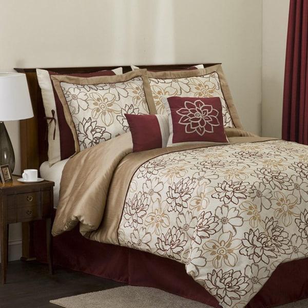 Lush Decor Florino 8-piece Comforter Set