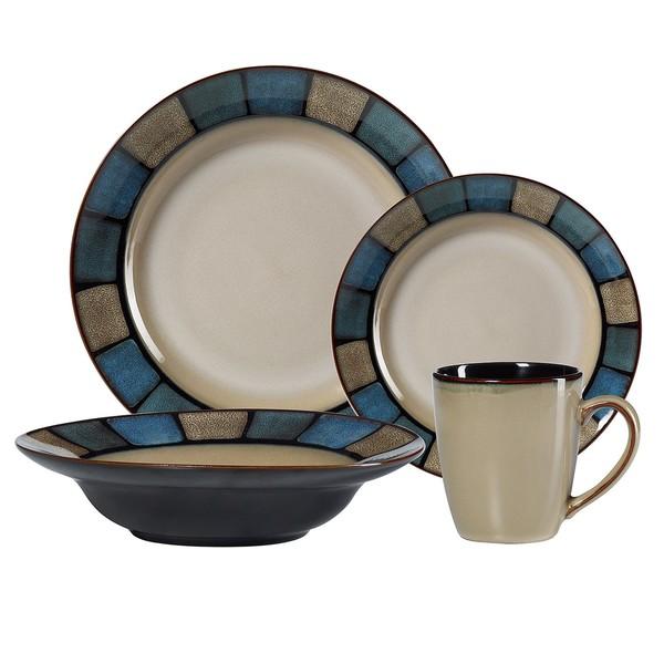 Pfaltzgraff Crestview 16-piece Stoneware Dinnerware Set