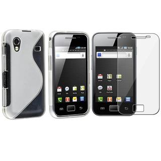 TPU Case/ Screen Protector for Samsung Galaxy Ace GT-S5830