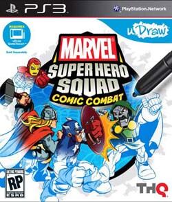 PS3 - uDraw Marvel Super Hero Squad: Comic Combat
