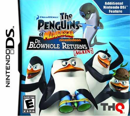 NinDS - Penguins of Madagascar: Dr. Blowhole Returns Again