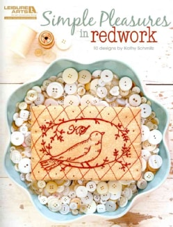 Simple Pleasures in Redwork (Paperback)