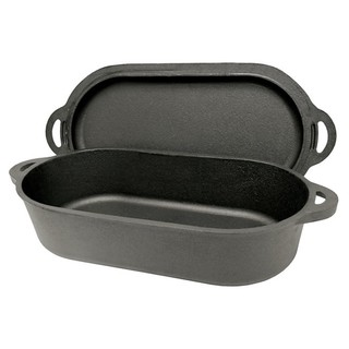 Bayou Classic Cast Iron 6-quart Fryer with Griddle Lid