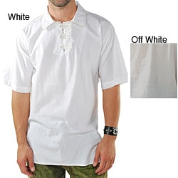 Men's Kurtha Cotton Polo Shirt (Nepal)