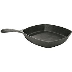 Bayou Classic 10.5-Inch Square Cast Iron Skillet