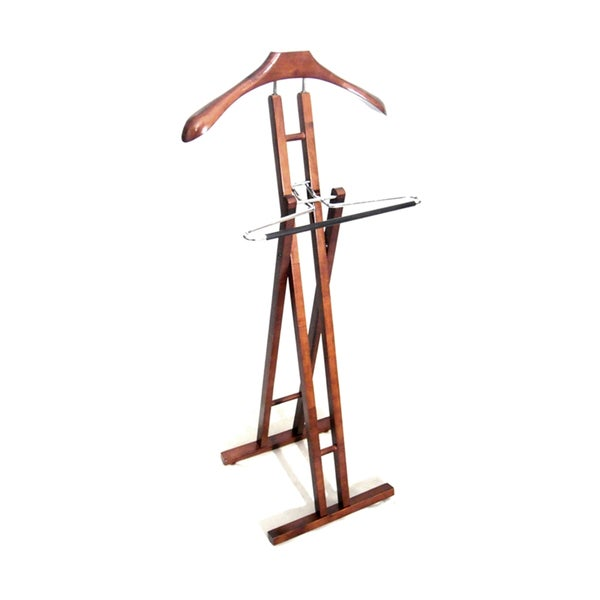 Danny VL16656 Foldable Wood Valet