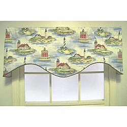 Land Ho Nautical Cornice Valance