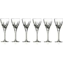 RCR Crystal Trix Collection Water Goblets (Set of 6)