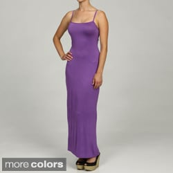 24/7 Comfort Apparel Women's Camisole Maxi Dress