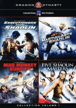 Dragon Dynasty's Ultimate Kung Fu 4PK Box Set (DVD)