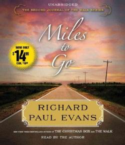 Miles to Go (CD-Audio)