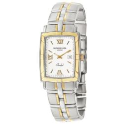 Raymond Weil Men's 'Parsifal' 18K Yellow Gold and Stainless Steel Quartz Watch