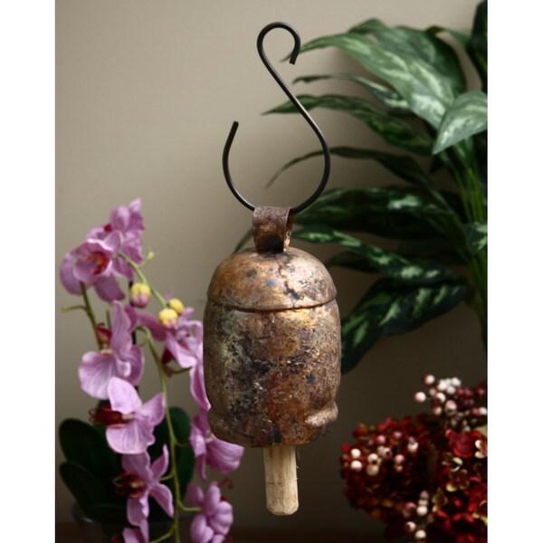 Worldstock Coppertone Handmade Copper/Brass Nana Bells (India)