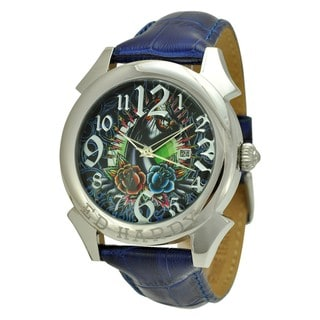 Ed Hardy Men's Revolution Panther Watch