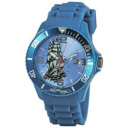 Ed Hardy Women's Sailing Ship Matterhorn Watch