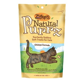 Zuke S Treat Natural Purrz Moist Chicken 3 Ounces
